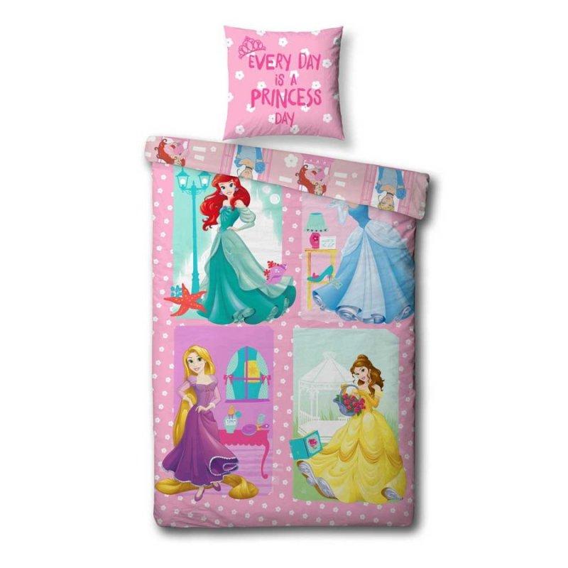 41cca2b65 Disney Princess - Sengetøj - 140X200 Cm - Pink → Køb Billigt Her