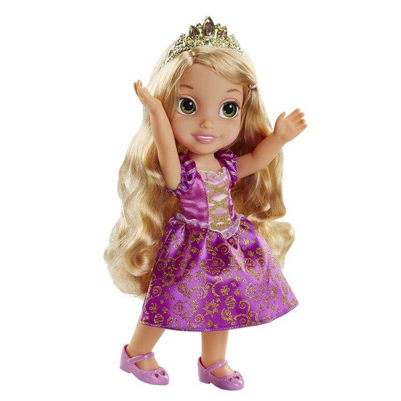 rapunzel dukke med lysende hår
