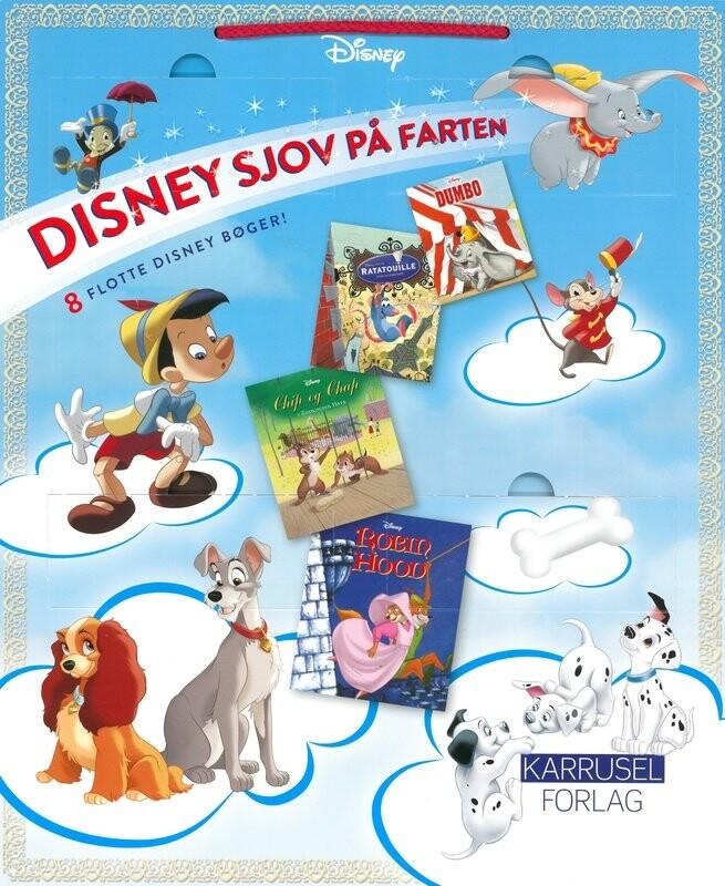 Image of   Disney Sjov På Farten - Disney - Bog
