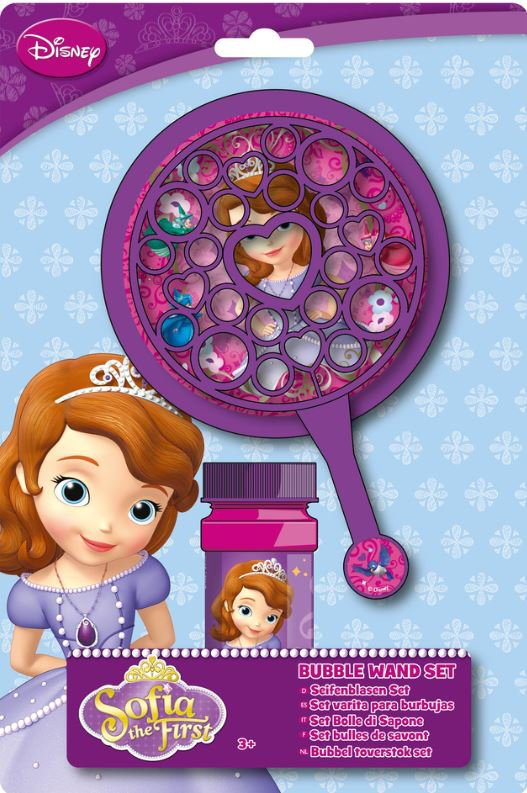 sæbe bobler, bubble fun, bubblefun, sæbeboblevand, disney, sofia the first