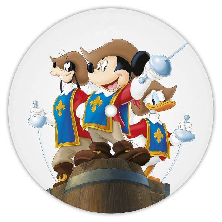 Image of   Disney - The Three Musketeers, All For One And One For All Limited Picture Edition - Vinyl / LP