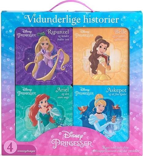 Image of   Disney Prinsesser - Vidunderlige Hístorier - Disney - Bog