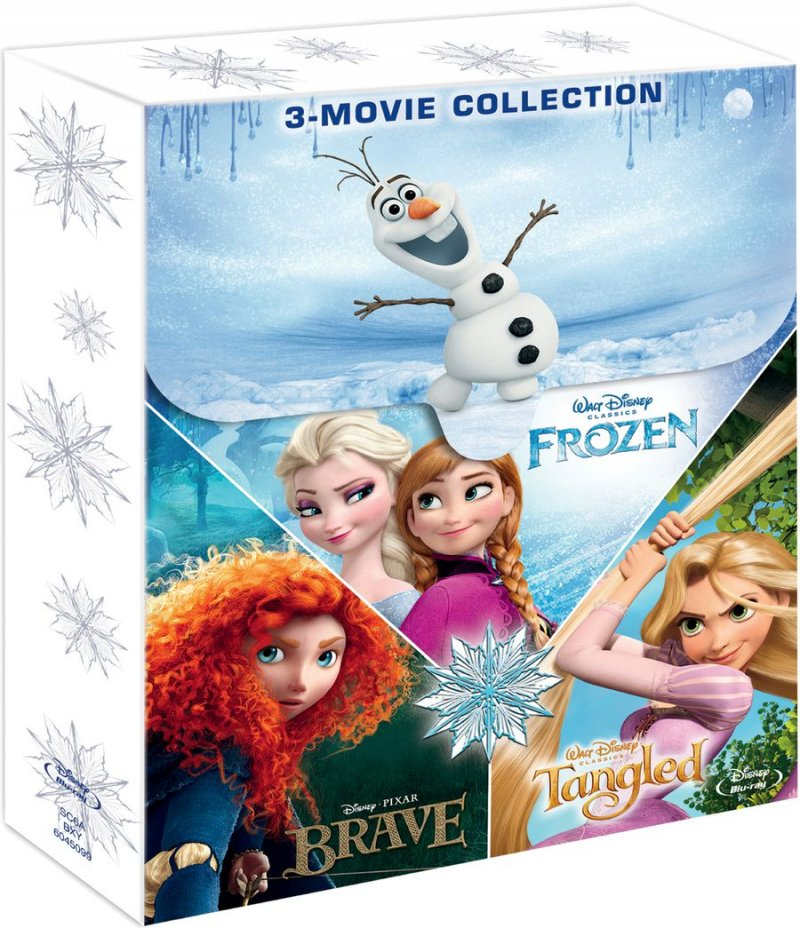Image of   Frost // Tangled // Brave - Blu-Ray