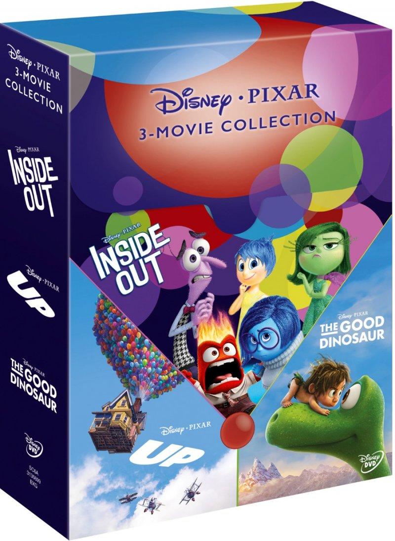 Billede af Op // Inderst Inde // Den Gode Dinosaur - DVD - Film