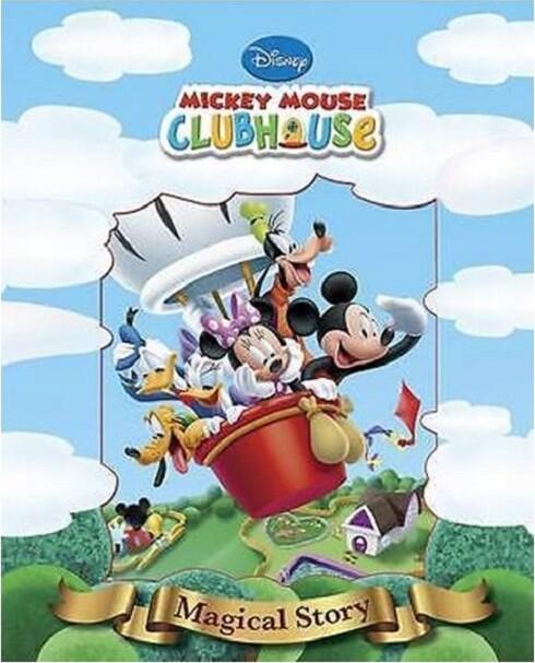 Image of   Disney Magiske Historier - Mickeys Klubhus - Disney - Bog