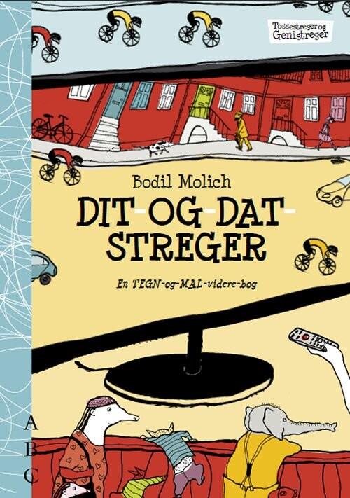 Billede af Dit- Og Datstreger - Bodil Molich - Bog
