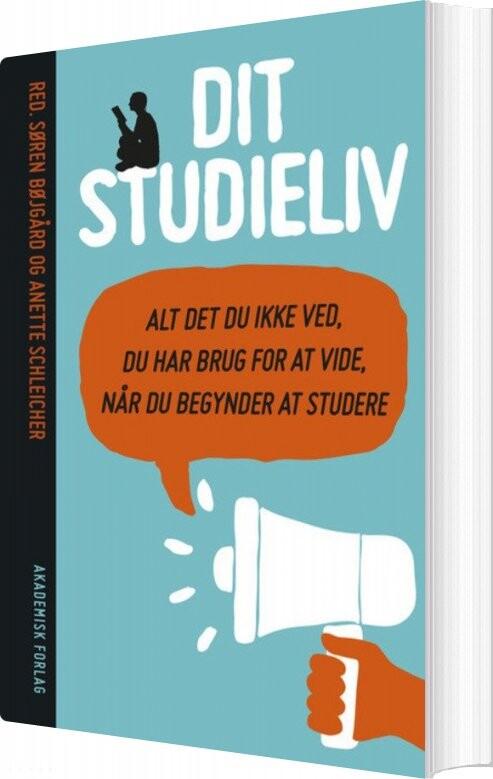 Image of   Dit Studieliv - Anette Schleicher - Bog