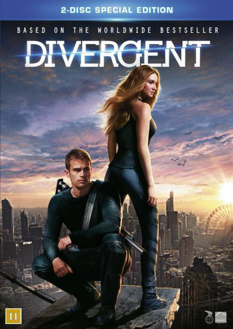 Image of   Divergent - Blu-Ray