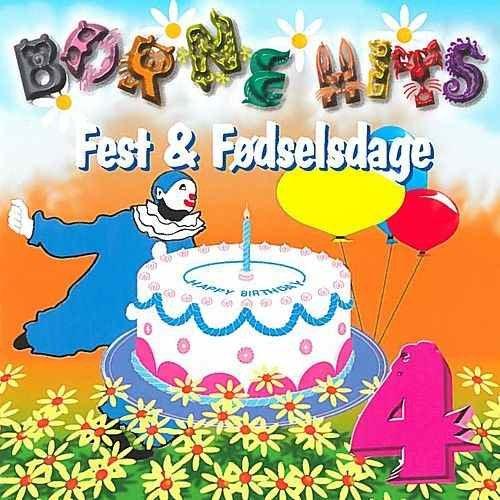 Image of   Børnehits Vol. 5 - Fest & Fødselsdage - CD