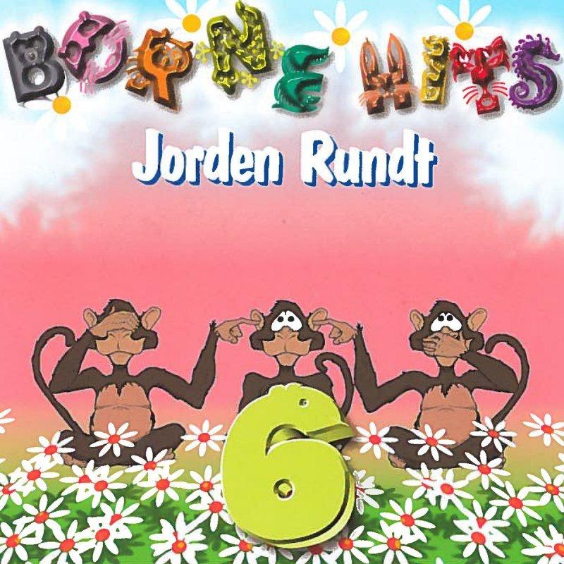 Image of   Børnehits Vol. 6 Jorden Rundt - CD