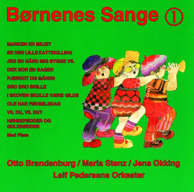 Image of   Børnenes Sange 1 - CD
