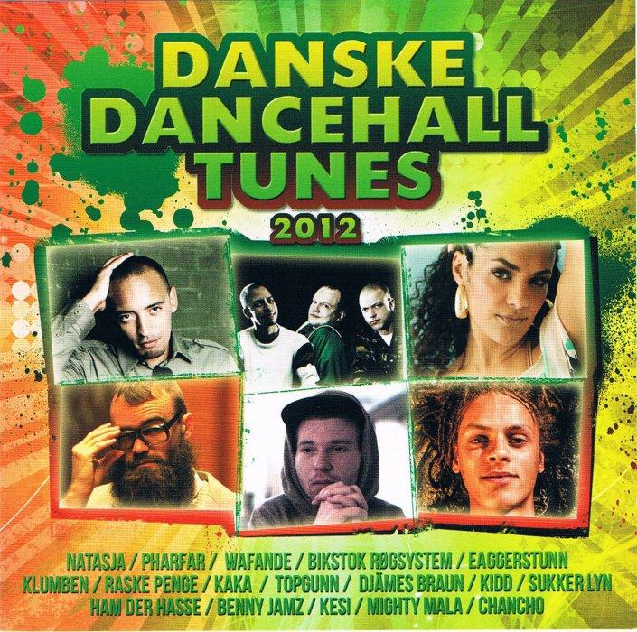 Image of   Danske Dancehalls Tunes 2012 - CD