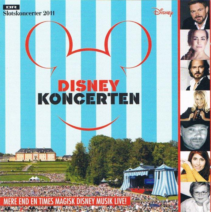 Image of   Disney Koncerten - Dr Slotskoncert 2011 - CD