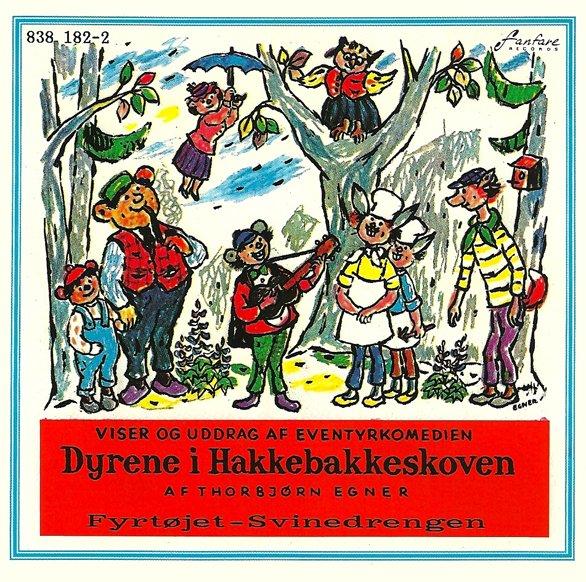 Dyrene I Hakkebakkeskoven M.m. - CD