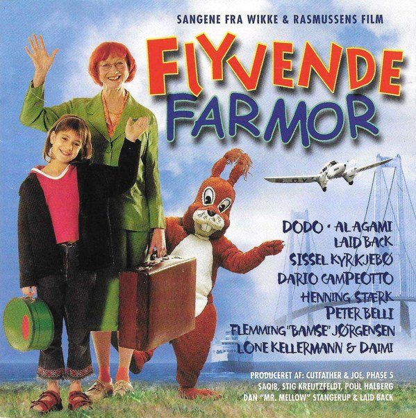 Image of   Flyvende Farmor Soundtrack - CD