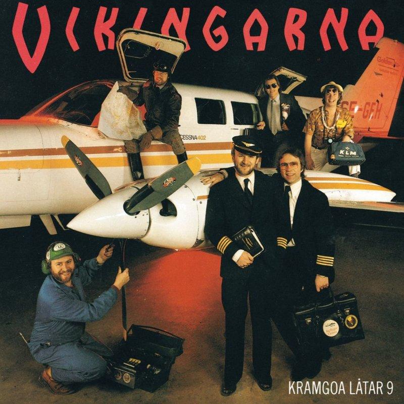 Vikingarna - Kramgoa Latar 9 - Halla Vaestind - CD