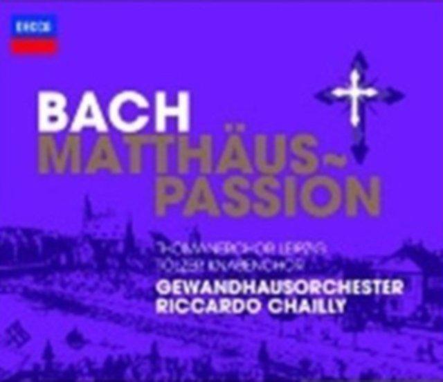 Image of   Matthäus-passion (ga) [dobbelt-cd] - CD