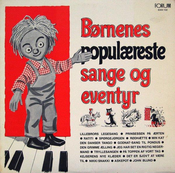 Image of   Børnenes Populæreste Sange Og Eventyr 1 - CD