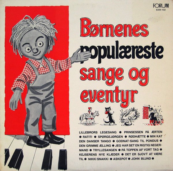 Billede af Børnenes Populæreste Sange Og Eventyr 1 - CD