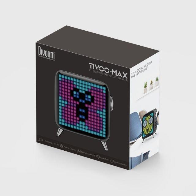 Divoom Tivoo-max – Trådløs Bluetooth Højtaler Med Lys