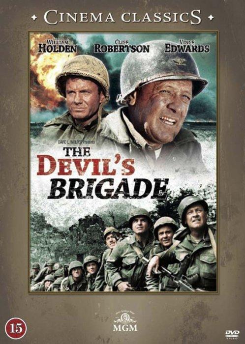 Image of   Djævlebrigaden / The Devils Brigade - DVD - Film