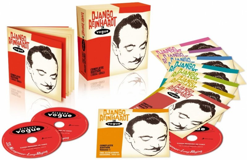 Image of   Django Reinhardt - Django Reinhardt On Vogue (1934-1951) - CD