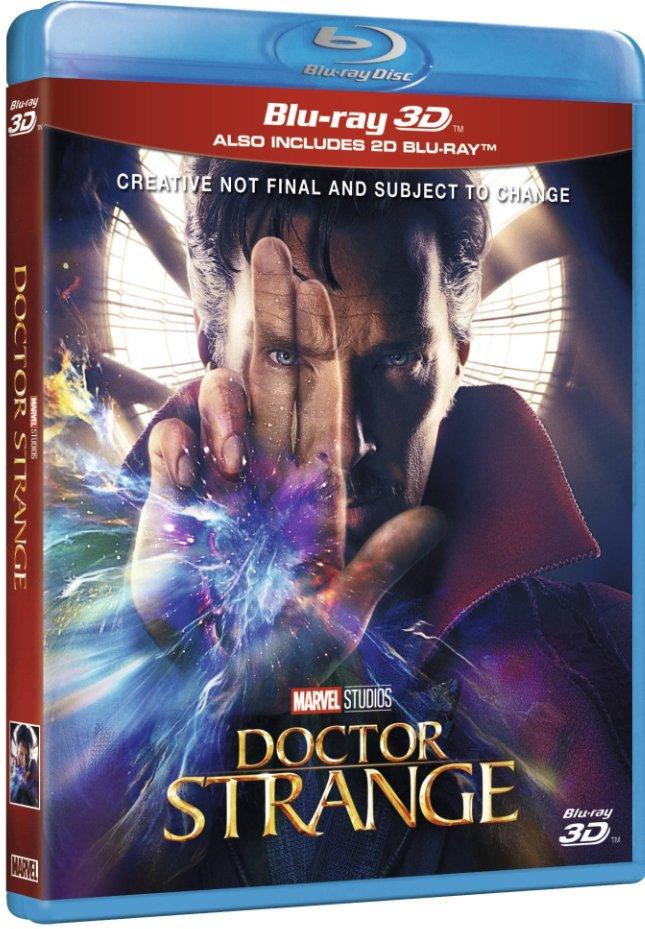 Image of   Doctor Strange - 3D Blu-Ray