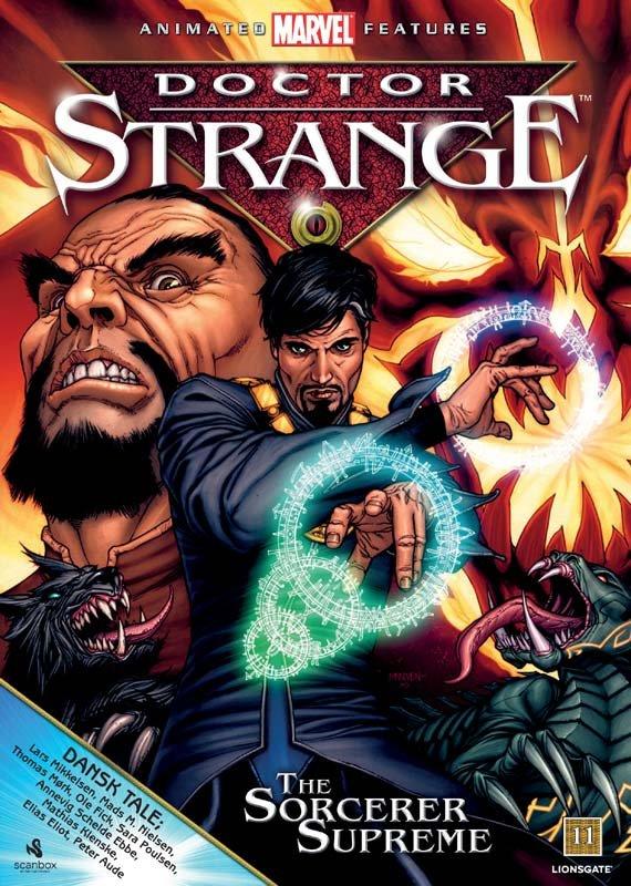 Image of   Doctor Strange - DVD - Film