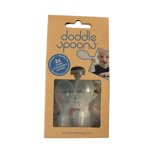Image of   Doddle Spoon Sæt Med 2 Skeer Til Grødposer