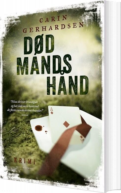 Død Mands Hånd - Krimi - Carin Gerhardsen - Bog