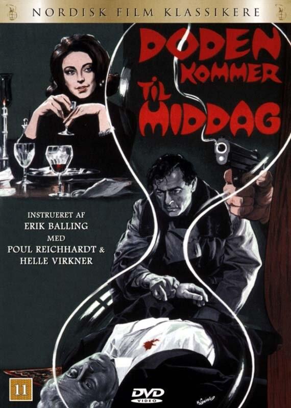 Image of   Døden Kommer Til Middag - DVD - Film