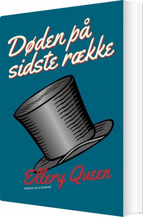 Image of   Døden På Sidste Række - Ellery Queen - Bog