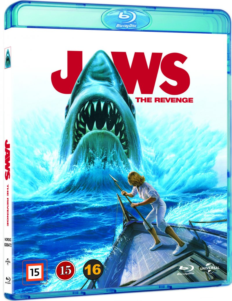 Image of   Jaws 4: The Revenge / Dødens Gab 4 - Blu-Ray