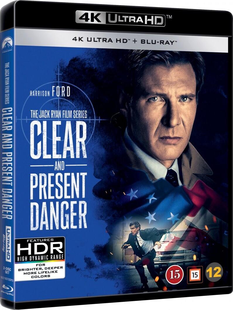 Image of   Dødens Karteller / Clear And Present Danger - 4K Blu-Ray