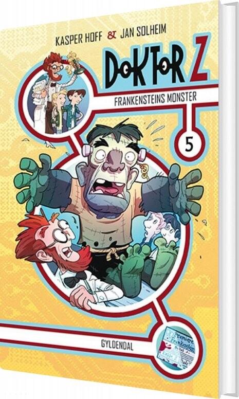 Billede af Doktor Z 5 - Frankensteins Monster - Jan Solheim - Bog