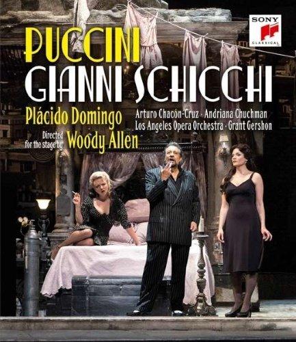 Image of   Domingo Plácido Puccini: Gianni Schicchi - Blu-Ray
