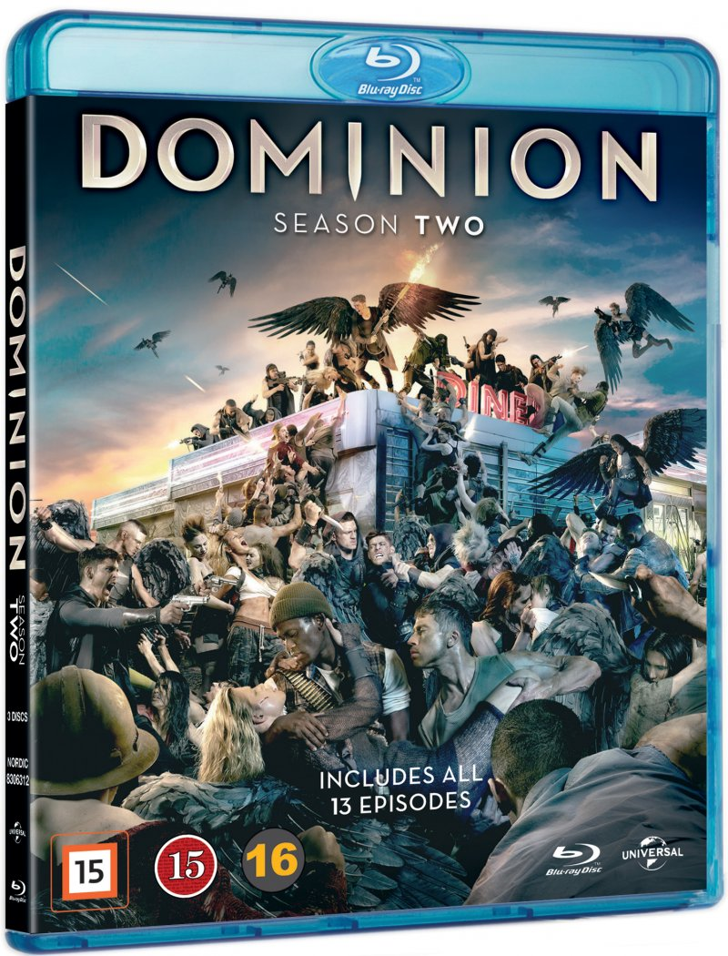 Dominion - Sæson 2 - Blu-Ray - Tv-serie
