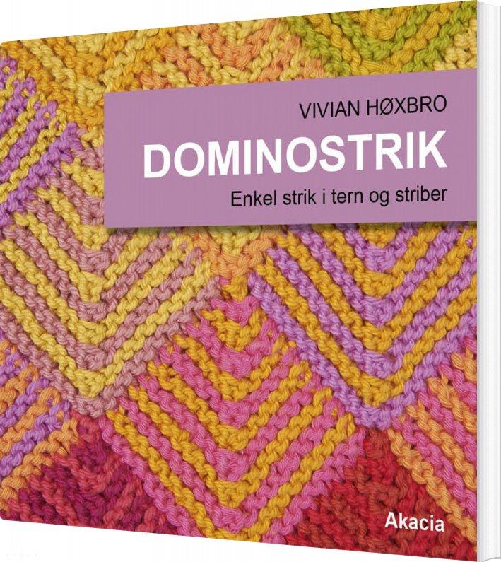Billede af Dominostrik - Vivian Høxvro - Bog