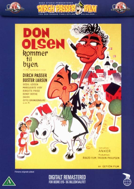 Image of   Don Olsen Kommer Til Byen - DVD - Film