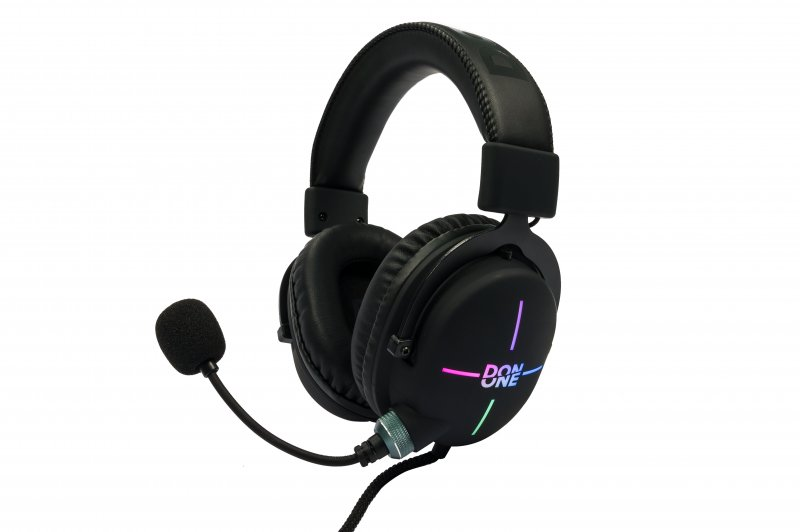 Billede af Don One Gh300 - Gaming Headset Til Pc Mac Ps4 - Sort