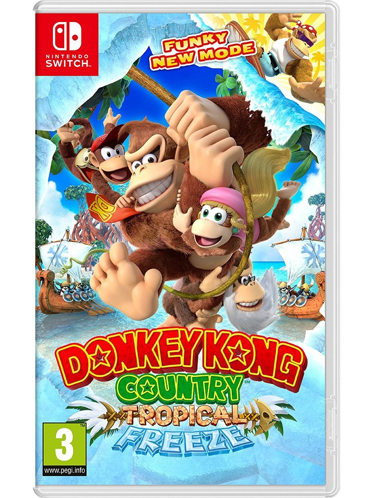 Image of   Donkey Kong Country - Tropical Freeze - Nintendo Switch