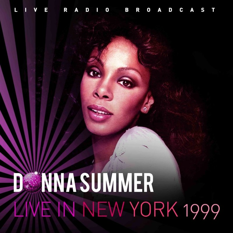 Donna Summer - Live In New York - 1999 - Vinyl / LP