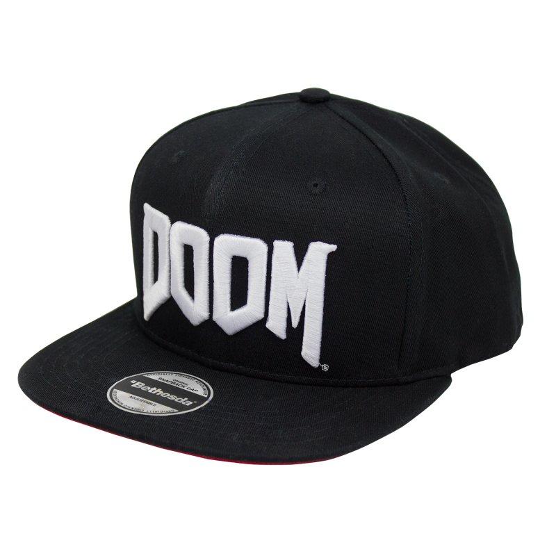 Image of   Doom Merchandise Kasket Snapback Logo