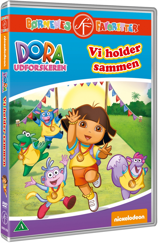 Dora The Explorer / Dora Udforskeren - Vi Holder Sammen - DVD - Film