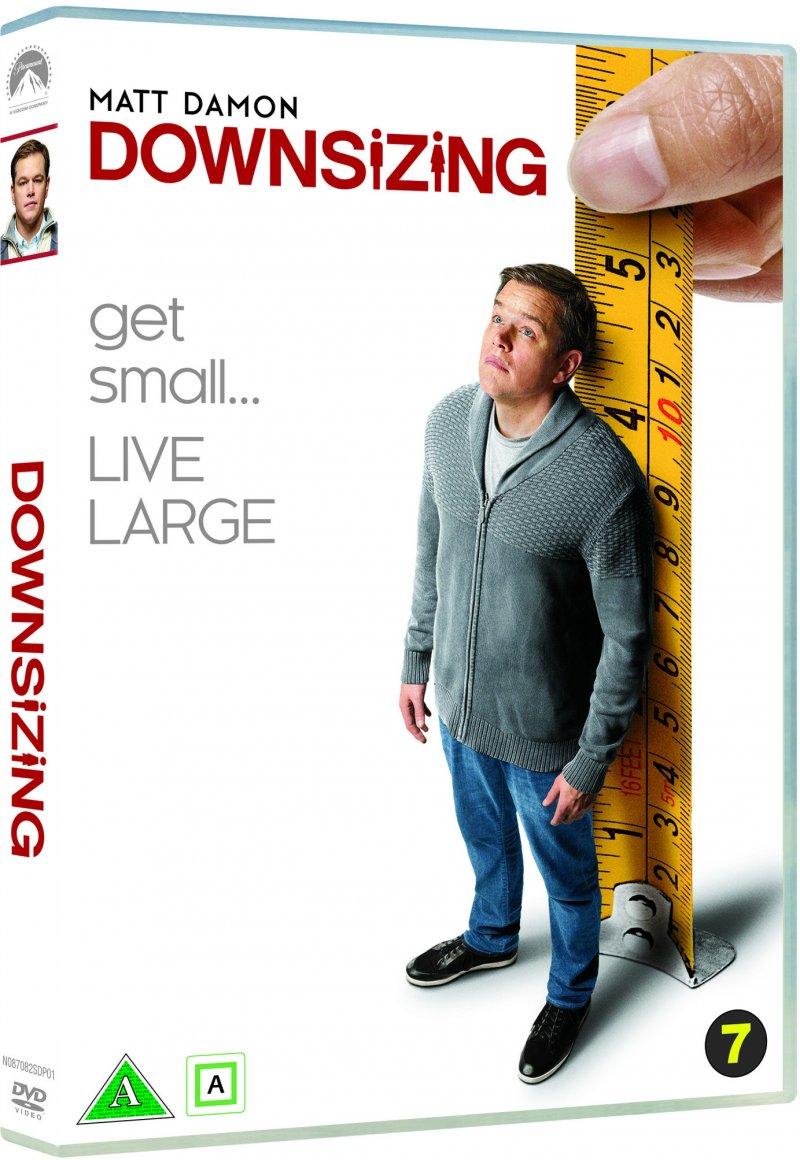 Image of   Downsizing - 2017 - Matt Damon - DVD - Film