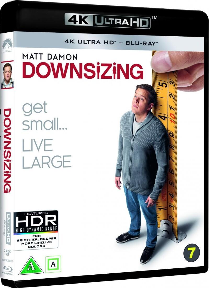 Image of   Downsizing - 2017 - Matt Damon - 4K Blu-Ray