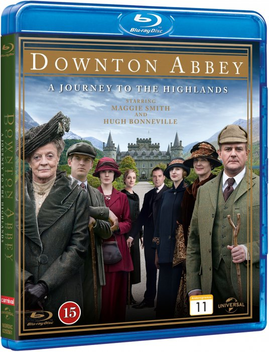 Image of   Downton Abbey: A Journey To The Highlands - Blu-Ray - Tv-serie