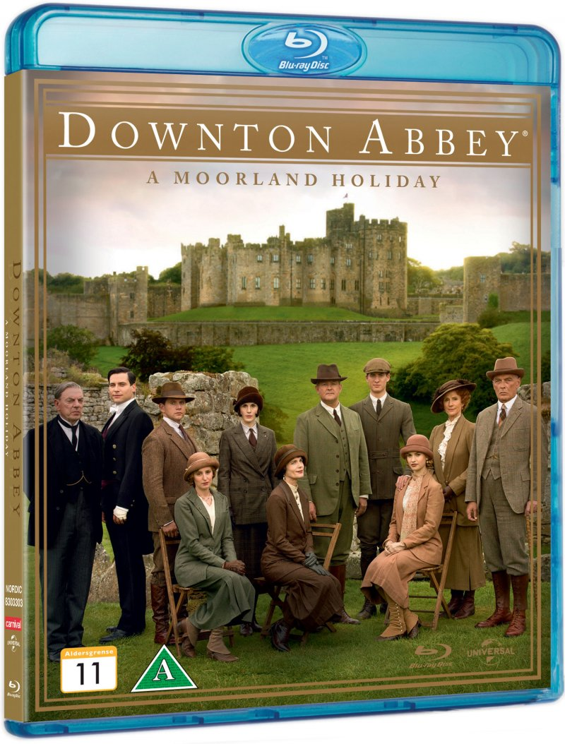 Image of   Downton Abbey - A Moorland Holiday - Blu-Ray - Tv-serie