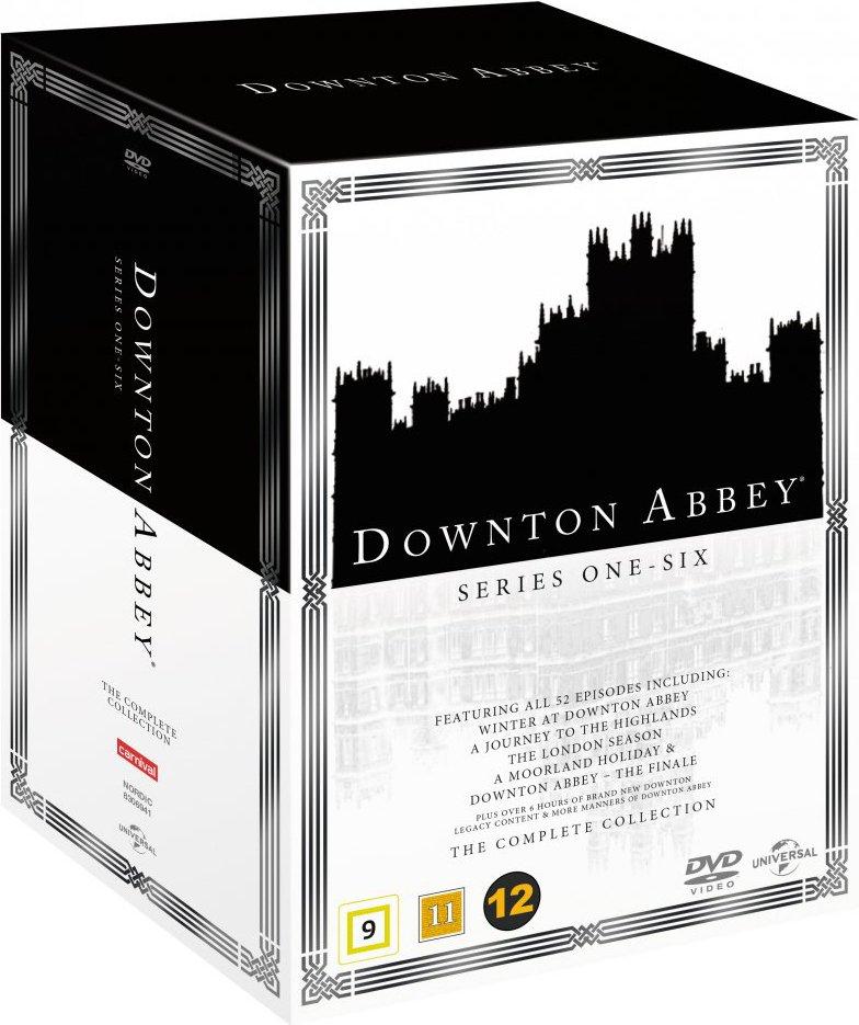 Downton Abbey Box - Sæson 1-6 + 5 Specials - DVD - Tv-serie