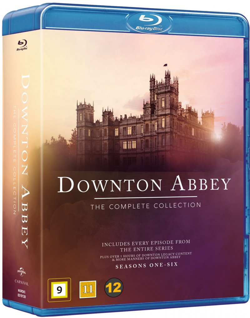Image of   Downton Abbey - Den Komplette Serie - Blu-Ray - Tv-serie